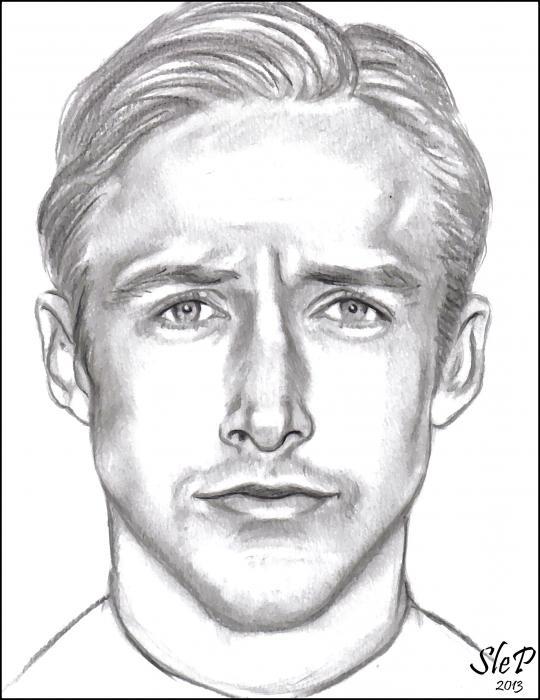 Ryan Gosling by SleP